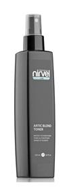 Спрей-кондиционер(тонер) для увлажнения и поддержания холодных оттенков блонд Artic blond  Nirvel