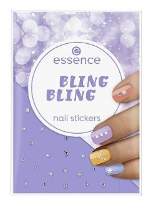 Наклейки для ногтей Nail stickers  Essence