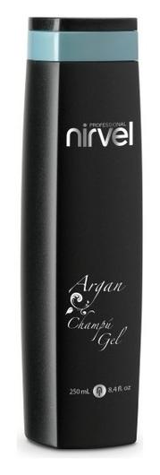 Шампунь-гель для волос с маслом арганы ARGAN SHAMPOO-GEL  Nirvel