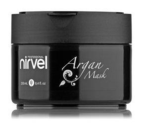 Маска для глубокого увлажнения и восстановления волос с маслом арганы ARGAN MASK  Nirvel