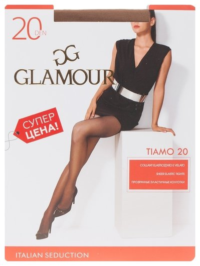 Колготки Tiamo 20 Den  Glamour
