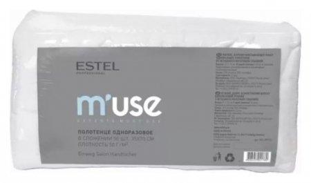 Полотенце одноразовое 35×70 см в сложении 50 шт  Estel Professional