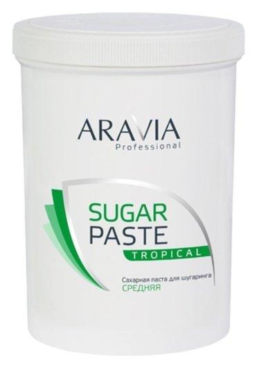 Паста сахарная для шугаринга средней консистенции Тропическая  Aravia Professional