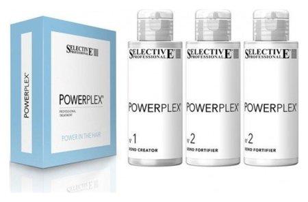 Набор для двухшаговой процедуры против повреждения и ломкости волос Powerplex Professional Treatment  Selective Professional