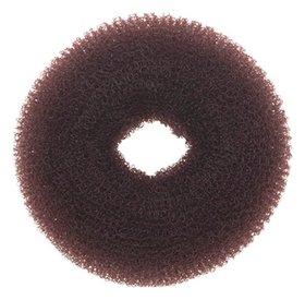 Валик для прически сетка коричневый диаметр 8 см