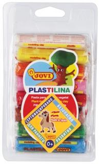 Пластилин на растительной основе 8 цветов  Jovi