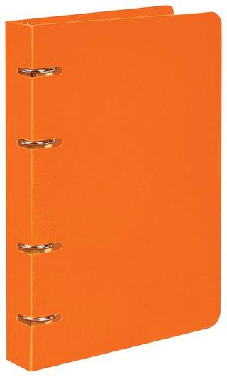 Тетрадь на кольцах 80 л. клетка Оранжевый  Brauberg