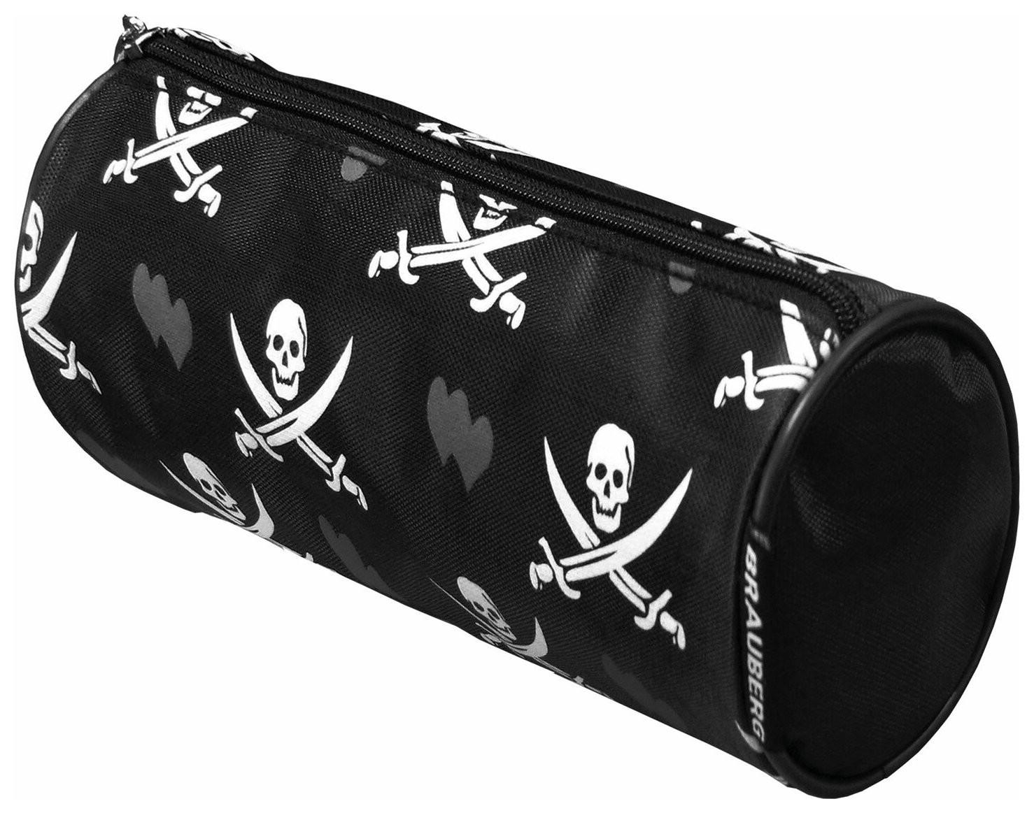 """Пенал-косметичка для учеников начальной школы """"Пираты"""", 20х7х7 см  Brauberg"""