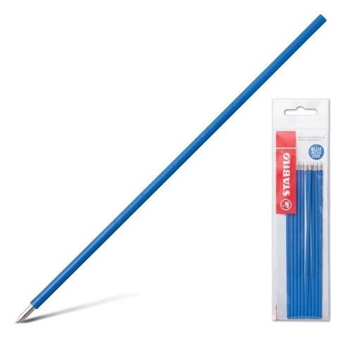 Стержни шариковые синие Liner  Stabilo