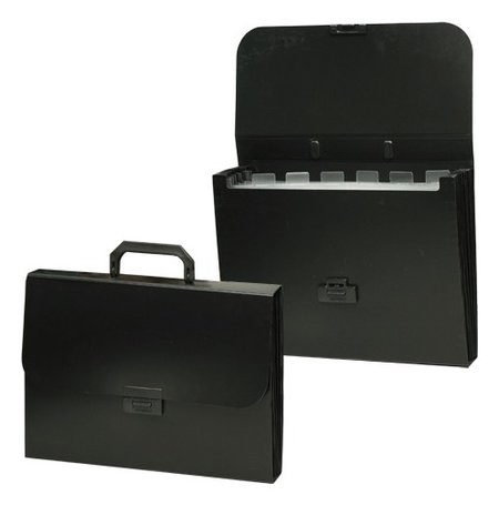 Папка-портфель пластиковая Energy А4 330х256х32 мм 7 отделений  Brauberg
