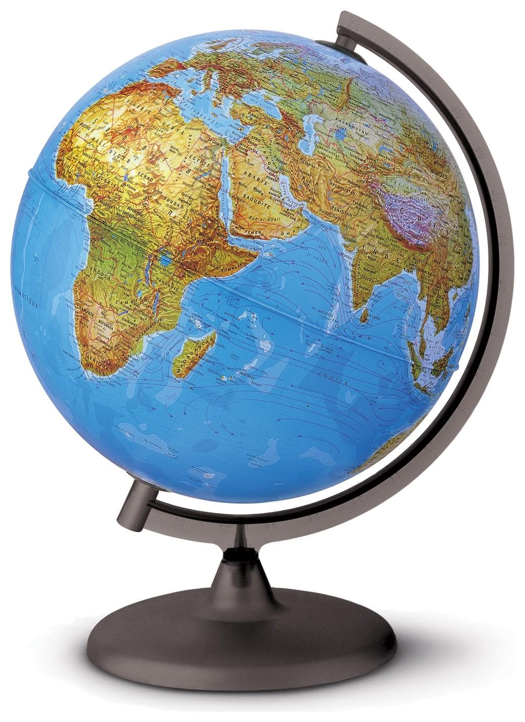Глобус физический/политический Orion диаметр 300 мм, с подсветкой  Tecnodidattica