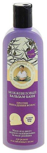 Можжевеловый бальзам-баня против выпадения волос  Рецепты бабушки Агафьи