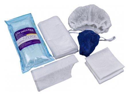 Комплект стерильный одноразовый для массажа мужской  Sterix