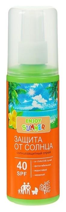 Солнцезащитный спрей Spf 40 Enjoy Summer  Enjoy summer