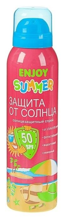 Аэрозоль солнцезащитный Spf 50 E  Enjoy summer