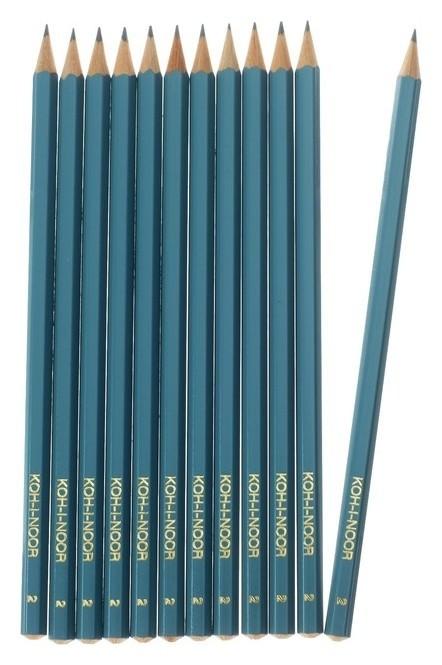 Набор граненых карандашей  Koh-i-noor