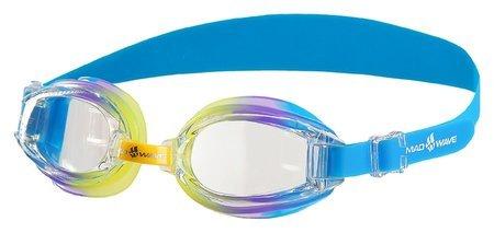 Очки для плавания детские сине-зелёные Coaster Kids M0415 01 0 06w  Mad wave