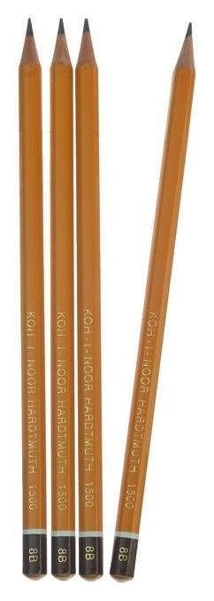 Набор карандашей чернографитных 8В  Koh-i-noor