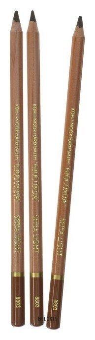 Набор карандашей 3 шт Gioconda 8803 Koh-i-noor