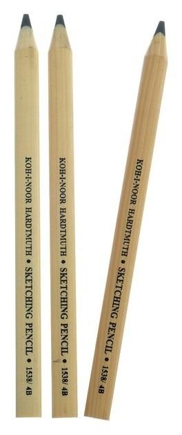 Набор карандашей чернографитных Jumbo  Koh-i-noor