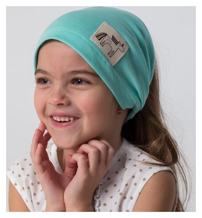 Косынка для девочки Единорог, размер 50-54  Hoh loon