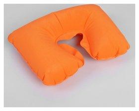 Подушка для шеи дорожная, надувная, 38 × 24 см