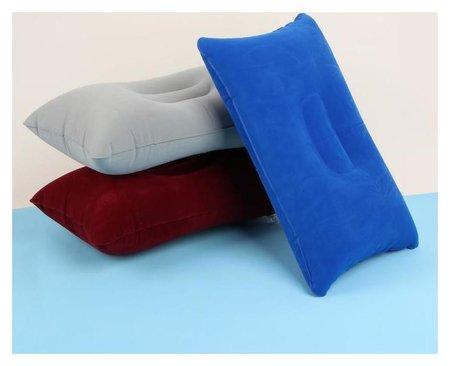 Подушка дорожная, надувная, 38 × 24 см  Queen Fair