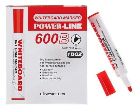 Маркер для доски 3.0 мм, 600B, красный  Line Plus