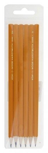 Набор чёрнографитных карандашей разной твердости  Koh-i-noor