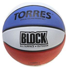 Мяч баскетбольный Block размер 7