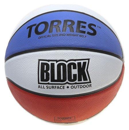 Мяч баскетбольный Block размер 7  Torres