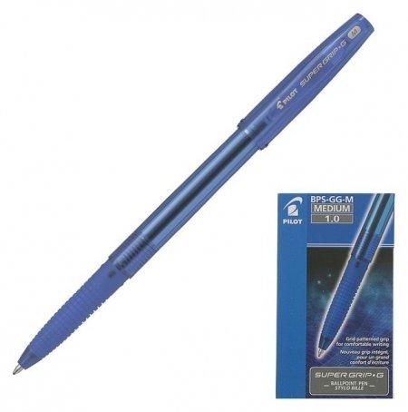 Ручка шариковая Super Grip G стержень синий BPS-GG-M (L)  Pilot