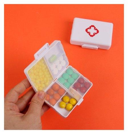 Таблетница «аптечка», 7 секций