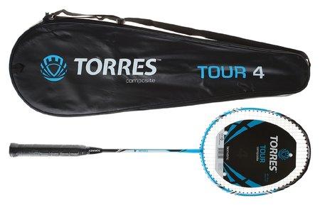 Ракетка для бадминтона Tour4  Torres