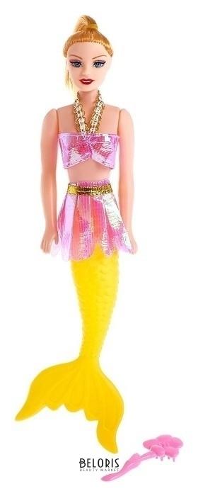 Кукла русалочка с расчёской КНР Игрушки