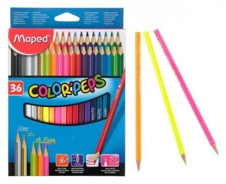 Карандаши цветные 36 цветов Color Pep's  Maped