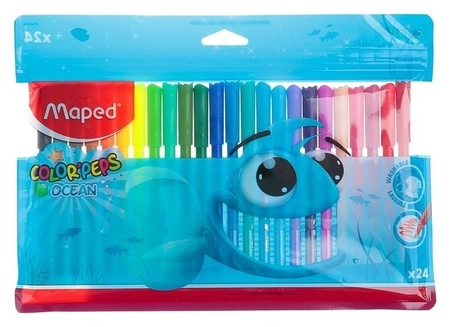 Фломастеры 24 цвета Color Peps  Maped