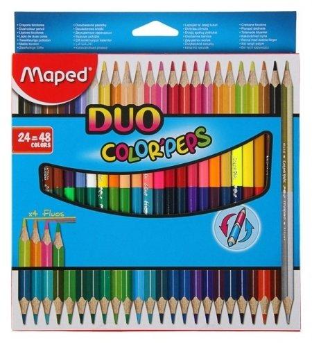 Карандаши 48 цветов 24 штуки Color Peps  Maped