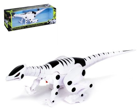 Динозавр-робот Рекс со световыми и звуковыми эффектами КНР Игрушки