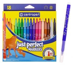 Фломастеры 18 цветов Perfect  Centropen