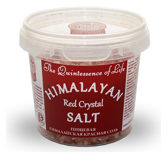 Гималайская красная соль пищевая крупная  Himalayan Pink Crystal Salt