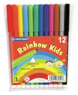 Фломастеры 12 цветов Rainbow Kids  Centropen