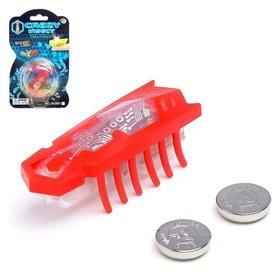 Жучок «Робот-жук», световые эффекты, работает от батареек, микс