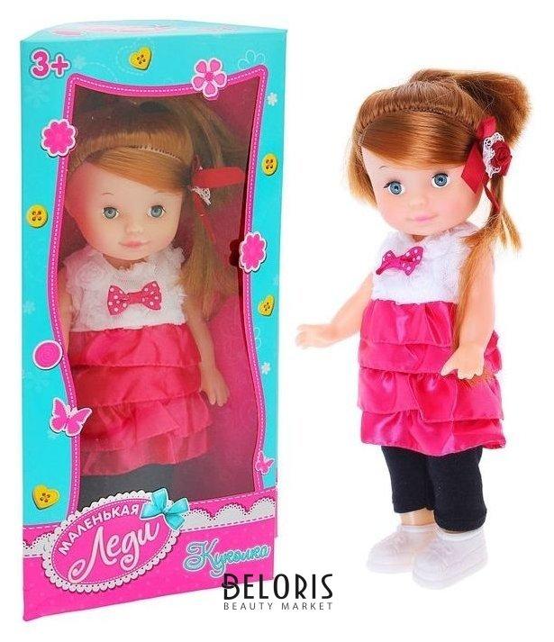 Кукла «Лиза» в платье с аксессуарами КНР Игрушки