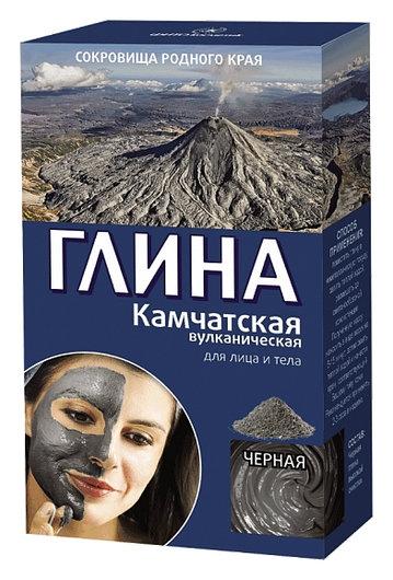 """Глина черная """"Камчатская вулканическая""""  Фитокосметик"""