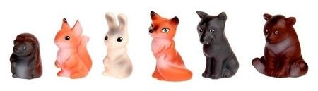 Набор резиновых игрушек Животные леса  Весна Игрушки
