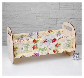 Кроватка Люлька, с текстилем