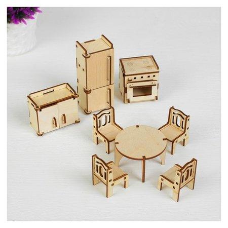 Набор мебели Кухня, 10 предметов  Polly