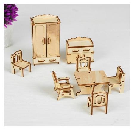 Набор мебели Зал, 9 предметов  Polly
