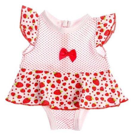 Одежда для куклы 38-42 см Платье-боди  Colibri